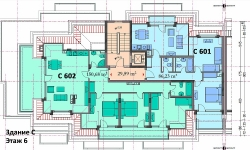 Трехкомнатная квартира Святой Влас